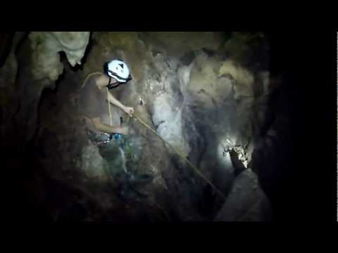 Caving in San German Puerto Rico