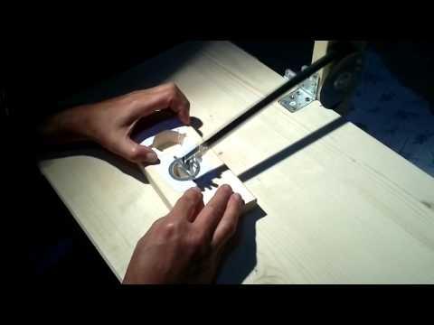 hand made scrool saw ( turkish mind ) el yapımı kıl testere