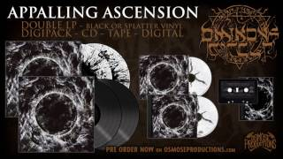 THE OMINOUS CIRCLE Appalling Ascension (Official Teaser) - Osmose Productions Channel