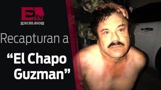 """Imágenes exclusivas sobre la recaptura de """"El Chapo"""" Guzmán / 08 de enero 2016"""