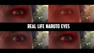 Real life Naruto Eyes After Effects