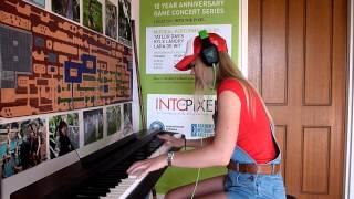 Lara plays 'Bob-Omb Battlefield' from Super Mario 64 on piano