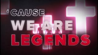 Hardwell & KAAZE & Jonathan Mendelsohn - We Are Legends [Lyric Video]