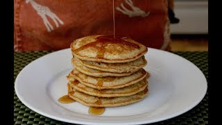 Yummy Homemade Applesauce Pancakes