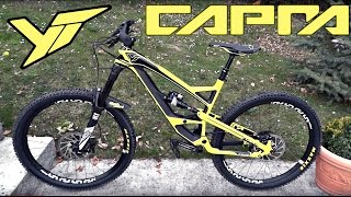 2016 YT Capra CF Comp Out of the box