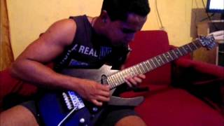 DragonForce- Through the fire and flames solo cover Fagner