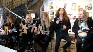 Dynazty live - Raise your hands (acoustic)