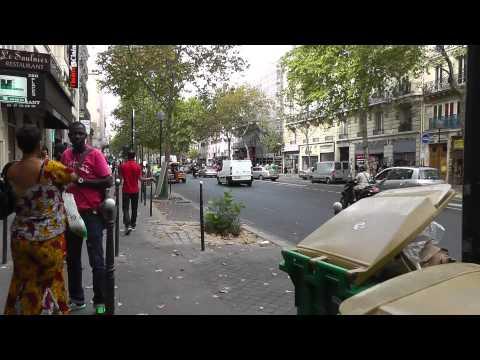 Paris: Ein Hauch von Afrika. A touch of Africa