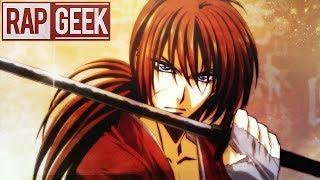 "RAP Anime #38 | Kenshin Himura ( Samurai x ) ""Coração da Espada"" | Yuri Black | BT:FiFtY VinC"
