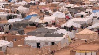 Terra de ninguém: 85 mil refugiados sírios vivem no limbo em fronteira