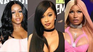 Cardi B BEATS Nicki Minaj & Remy MA as First Female Solo Rapper #1 on Billboard 100 chart Since 1998