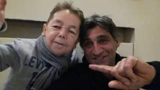 Angelo Iannelli e Davide  Marotta salutano gli amici di Facebook