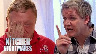 Owner Breaks Down Into TEARS After Gordon Rips Into His Restaurant | Kitchen Nightmares