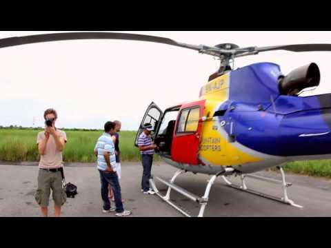 Helicopterflight in Nepal!