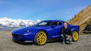 NEW Lancia Stratos 2018 Driven: The Legend is Back! [Review] Sub ENG