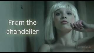 Sia   Chandelier Lyrics Video HD