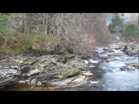 Falls of Dochart, Killin Scotland UK – Part1 2nd April 2012.MP4