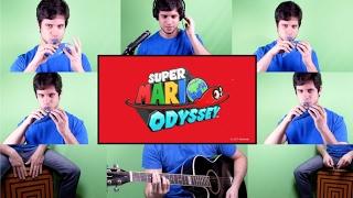 Super Mario Odyssey - Trailer - Ocarina Cover