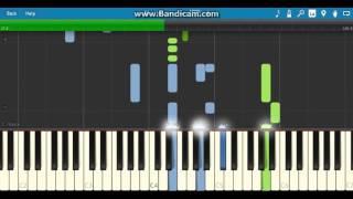 Happy birthday romantic (piano tutorial)