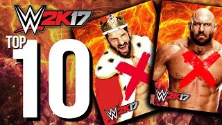 WWE 2K17 - Top 10 Superstars That Won't Be on The Roster