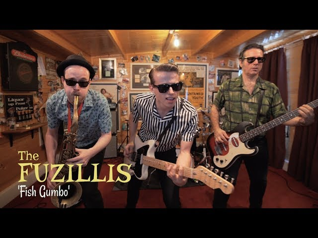 """Vídeo de la canción """"Fish Gumbo"""" de The Fuzillis."""