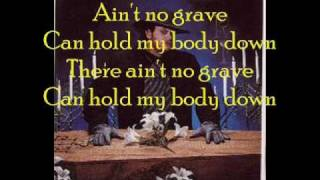 undertaker theme ain't no grave with lyrics by johnny cash