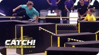 Hindernis-Lauf EXTREM! Obstacle Race (Spiel 6) - Teil 1 - CATCH! Der grosse SAT.1 Fang-Freitag