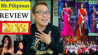 THRILLING,UNPREDICTABLE!!👑🇵🇭Bb.Pilipinas 2019 REVIEW.