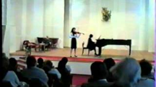 Prokofiev Mazurka from Cinderella (Eva Iframov, violin)