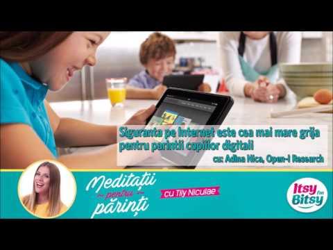 Siguranta pe Internet: Cea mai mare grija pentru parintii copiilor digitali