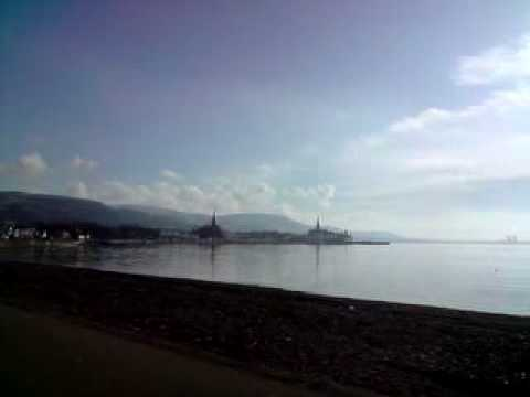 Largs in Scotland