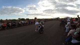 Apresentação de Andressa Araujo e Letycia Wheeling. 1º Moto Car Fest de Presidente Dutra-MA Parte 3