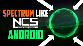 How to make ncs audio spectrum on android videos / InfiniTube