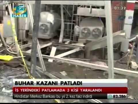 Konya'da Süt İmalatı Yapan İşyerinde Buhar Kazanı Patladı