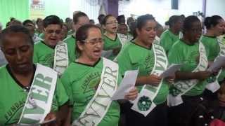 Coral Reviver Louvando a Deus c/Hino Mulheres na Peleja,Primeira Sede Sucursal Cidade Alvorada RS