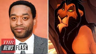 'Lion King': Chiwetel Ejiofor in Talks to Voice Scar in Live-Action Remake   THR News Flash