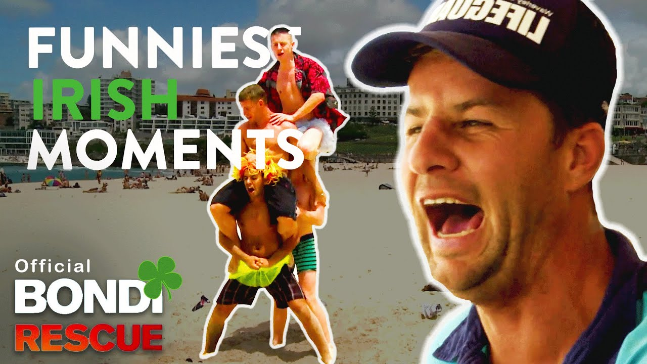 Funniest Irish Moments On Bondi Rescue