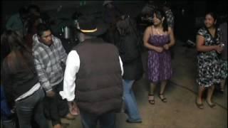 Una chilena con acordeón