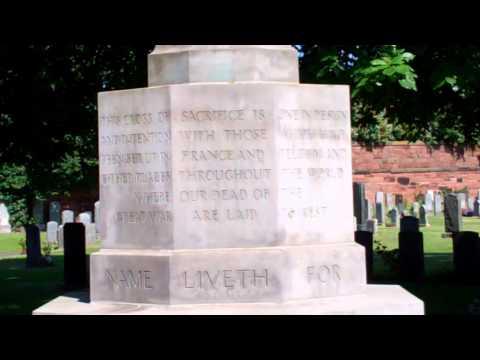 Cross Of Sacrifice Cemetery Edinburgh Scotland