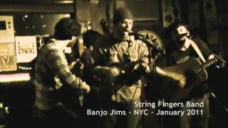 "String Fingers Band - Live at Banjo Jim's. NYC - ""Streamline"""