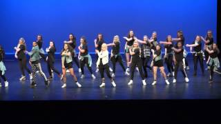 Roustabouts Dance Company - Spring Show 2016 - 12) Bossy Mix