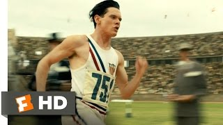 Unbroken (1/10) Movie CLIP - An Olympic Record (2014) HD