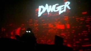 Danger live @ gaîté lyrique 05/03/11 #8