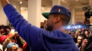 Juelz Santana does Jim Jones 848 Verse Live DunkXChange 2011 New York City (Part 2)