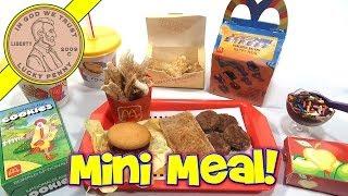 McDonald's Mini Happy Meal - Complete Toy Food Maker width=