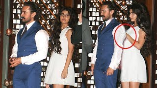 Aamir Khan CAUGHT With Fatima Sana Shaikh In Public At Ambani's Party