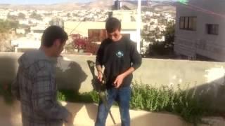 تجربة سلاح M16 A2 - مصطفى