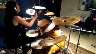Die - tepez Drum cover (Diabolis virtus in lumbar est)