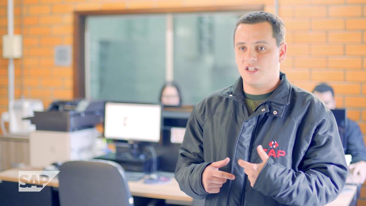 Capa vídeo do Case de Sucesso SAP CVA da CAP Logística