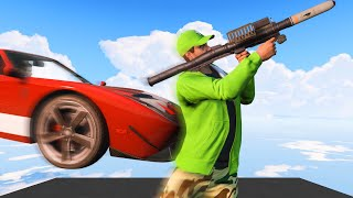 RPG's vs. 300MPH FLYING CARS! (GTA 5 Funny Moments)